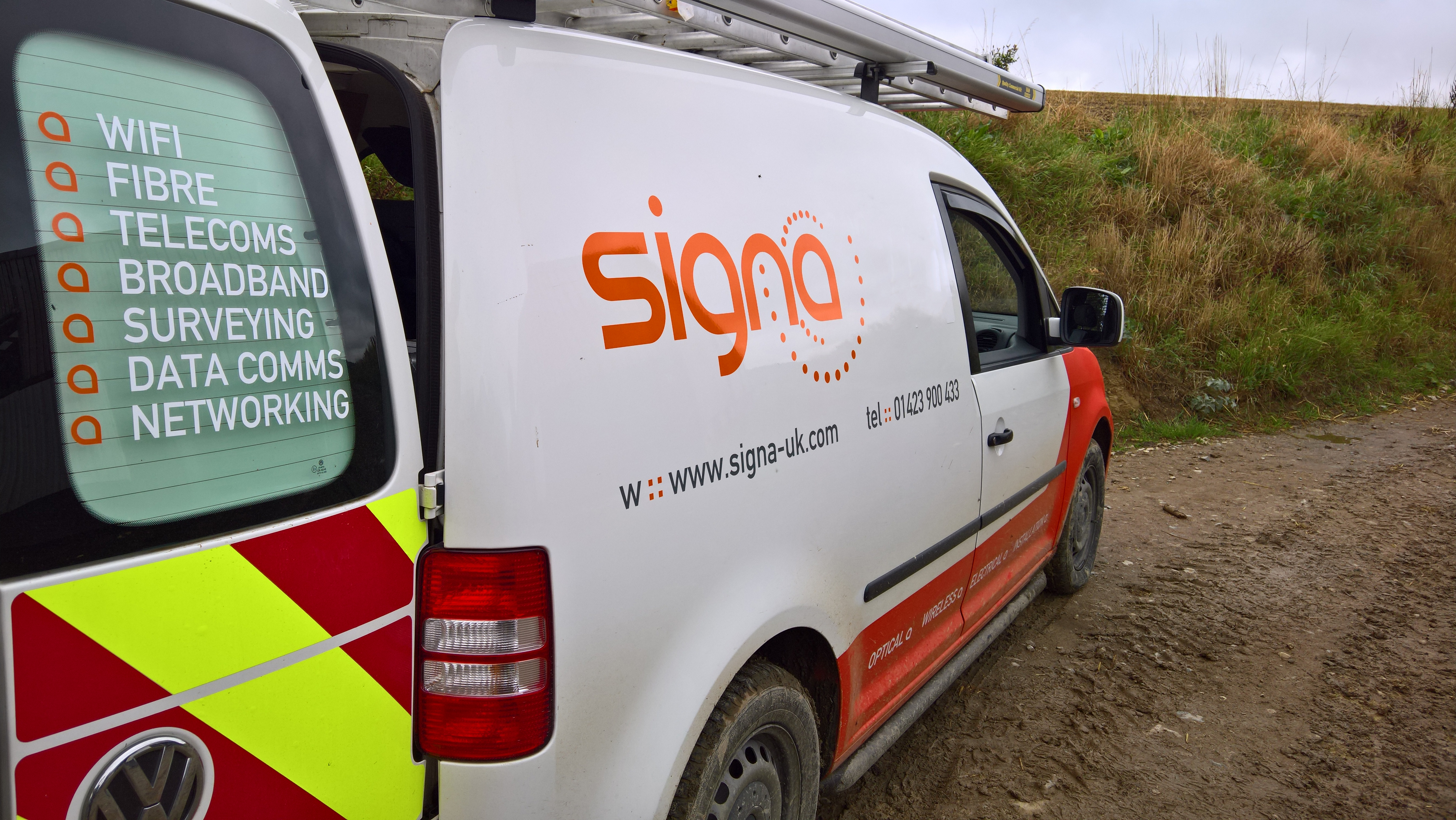 Signa Van on the Road