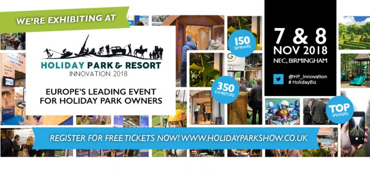 Signa will be Exhibiting at the Holiday Park & Resort Innovation 2018